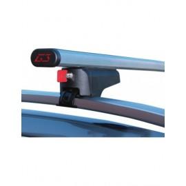 Clop G3 1100 mm + G368900 barre portatutto in alluminio